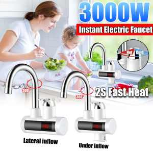 Electric Kitchen Water-Faucet Tap-Instant-Hot Under/Lateral