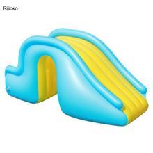 Pool Slide-Bouncer Swimming-Pool-Supplies Waterslide Water-Play-Toys Inflatable Kids
