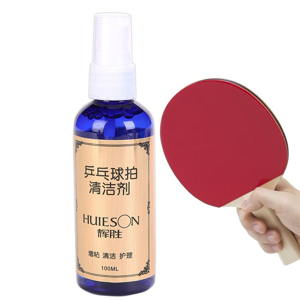 100ml Liquid Table Tennis Rubber Cleaner Table Tennis Detergent Racket Cleaning Stationery Store Maintenance Supplies 1 Bottle