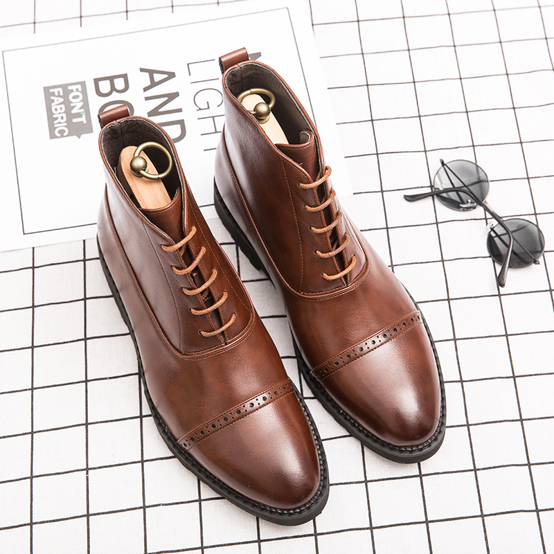 mens dress boots size 14