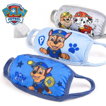 Paw Patrol Cartoon Breathable Children Washable Mask Patrulla Canina Action Figures Mask Kids Special Dustproof Anti-fog 2S43