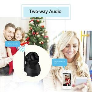 Image 5 - Caméra de surveillance IP Wifi HD 1080P, dispositif de sécurité domestique sans fil, avec codec H.264, 2.0 mégapixels, pour babyphone vidéo infrarouge