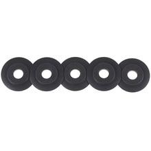 Lames de coupe pour Tube de cuivre, acier inoxydable, cisaille, roue circulaire, 5 pièces/ensemble