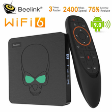 Beelink-TV Box GT King, Android 9,0, Amlogic S922X, Hexa-core, G52, gráficos MP6, 4GB LPDDR4, 64GB ROM, WiFi, 6, Bluetooth 4,1, 4K, 75hz
