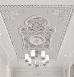 5D Европейский Стиль, потолочные обои для гостиной, спальни, гостиничного номера, на крыше, 3D обои, имитация гипса