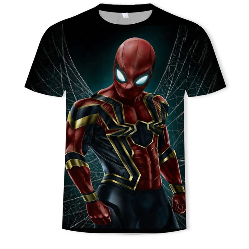Футболка с 3D принтом «Человек-паук», «Капитан Америка», «Гражданская война», Мужская футболка, Мстители, короткий рукав реглан, для фитнеса