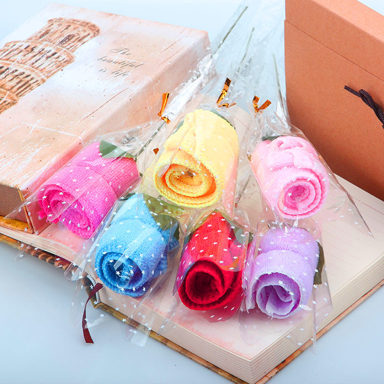 Cake Towel Rose Towel Creative Christmas Valentine's Day Activity Wedding Gift Return Opening Small Gifts