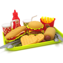 4 Style Children Kitchen Toys Play House Toy Plastic Drink Food Kit Kat Pretend Play Early Education Toy For kids Gifts