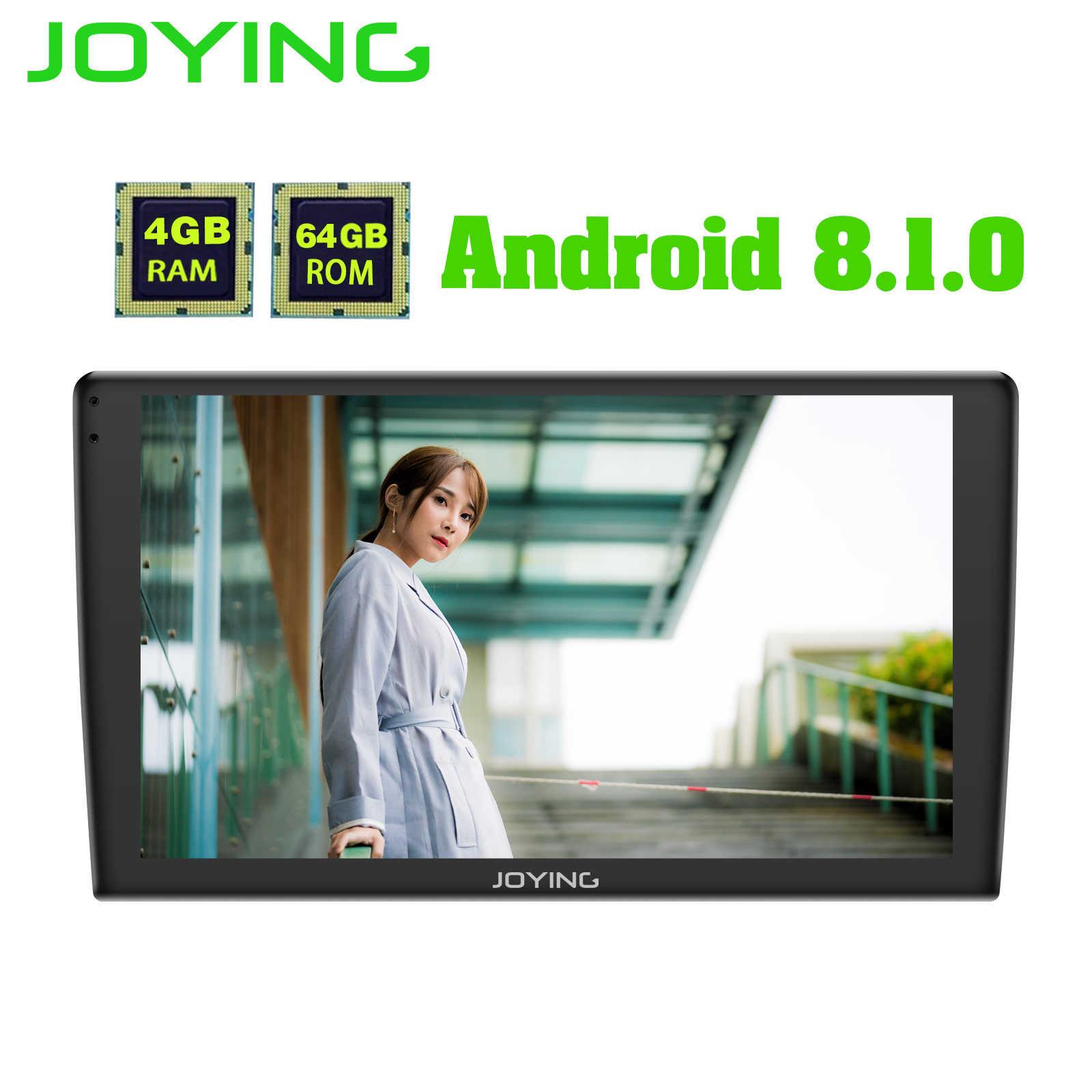 "Android автомобильный мультимедийный плеер радио 9 ""ips сенсорный экран одиночный 1 Din 4G ram 64G Rom автомобильный Радио gps камера Androidauto Carplay"