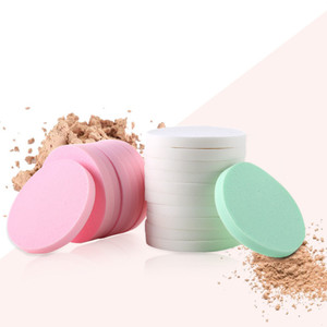 Image 3 - 20pcs Makeup Sponge Powder Puff Foundation Cosmetic Facial Sponges Soft Powder Puff for Beauty Tool Make up cotton Random Color