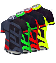 Breathable Unisex Cycling Jersey Spring Anti-Pilling Eco-Friendly Bike Clothing Road Team Bicycle Wear Shirts