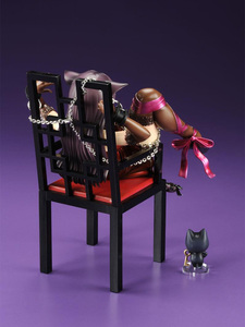 Image 3 - Japanese Anime Embrace Sexy Cat Girl Figures Chu ka na Neko & Chair PVC Action Figure Anime Sexy Gril Collectible Model Doll Toy