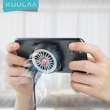 KUULAA cep telefonu radyatör oyun evrensel telefon soğutucu taşınabilir Fan soğutma için isı emici Xiaomi iPhone Samsung Huawei