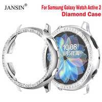 Funda protectora para Samsung Galaxy Watch Active 2, 44mm, 40mm, antiarañazos, para Samsung Galaxy Watch Active 2