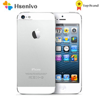 """Apple iPhone 5 Used (95% New )-Unlocked Mobile Phone iOS 6 Apple A6 Dual-core 4.0"""" 8MP Camera 1080p WIFI GPS Used Cellphone 1"""