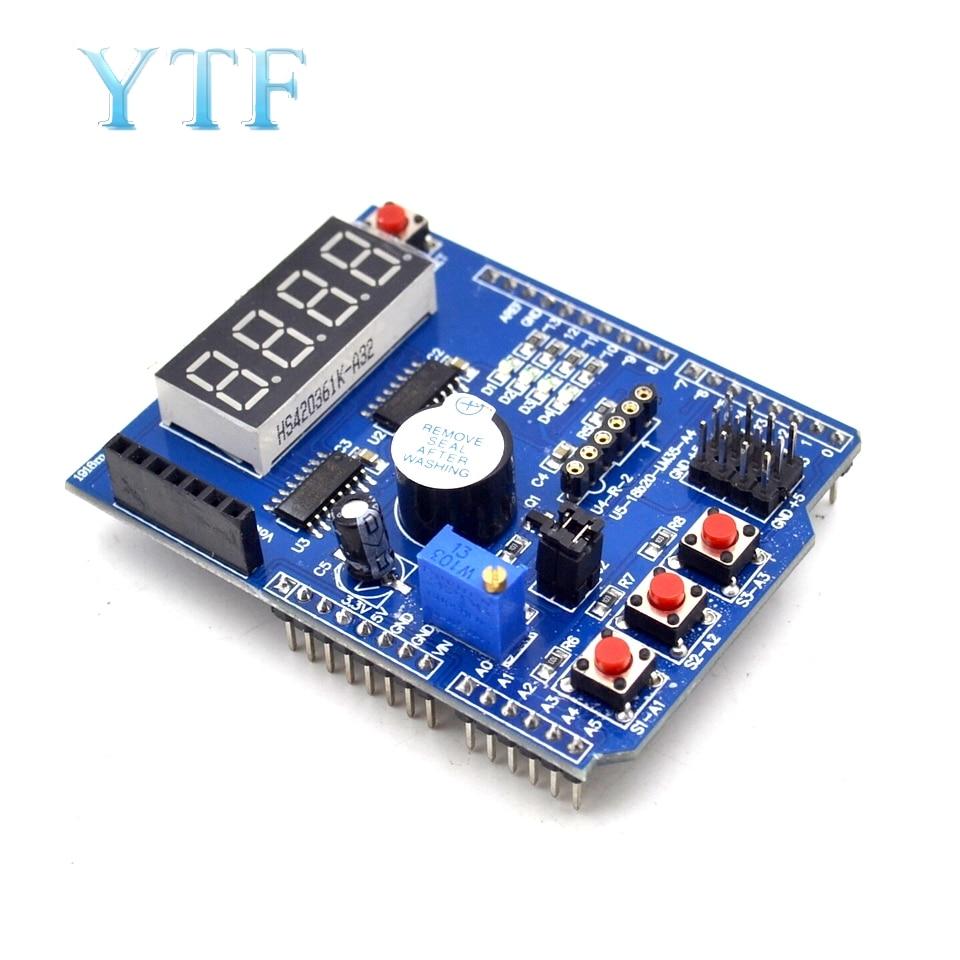 Multifunctional Expansion Board Basic Learning Kit Development Sensor Interface Extension
