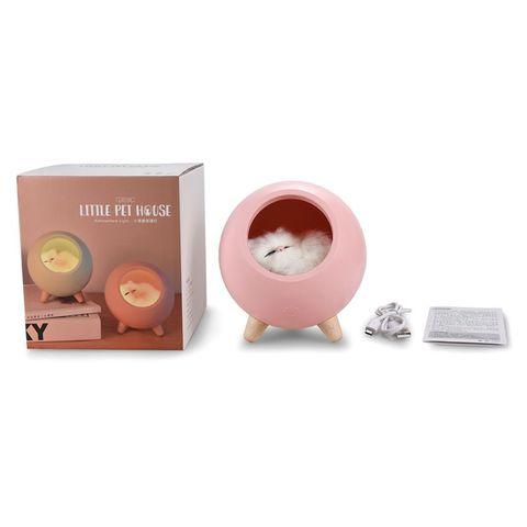 regulavel pet cat night light para sala