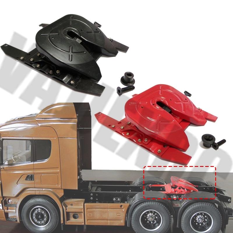 Simulation Metal Slide Bracket  for 1/14 Tamiya Remote Control Truck Scania R620 R470 MAN TGX VOLVO FH12 Actros 3363