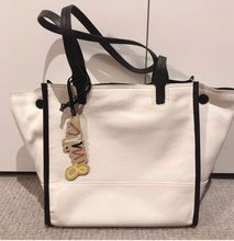 Large Capacity Handbag Minimalist Travel Ladies Casual Shopping Shoulder Tote Handbag White Soft Bolsos Mujer Bag Women DE50ST