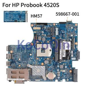 Image 2 - Материнская плата KoCoQin для ноутбука HP Probook 4520S, 4720S, HM57, материнская плата 598667 001, 598667 501, 55, 4gk06. 041