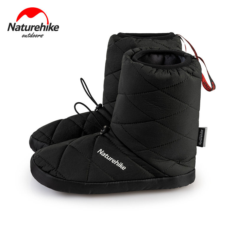 Naturehike Warm Camp Shoes Outdoor Windproof Insulation Boots Indoor Waterproof Cotton Shoe Lightweight For Camping Hiking