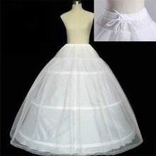 Свадебный Подъюбник Дешевые Аксессуары Белый С Подол Кружева Аппликации Бальное Платье Свадебное Для Платье