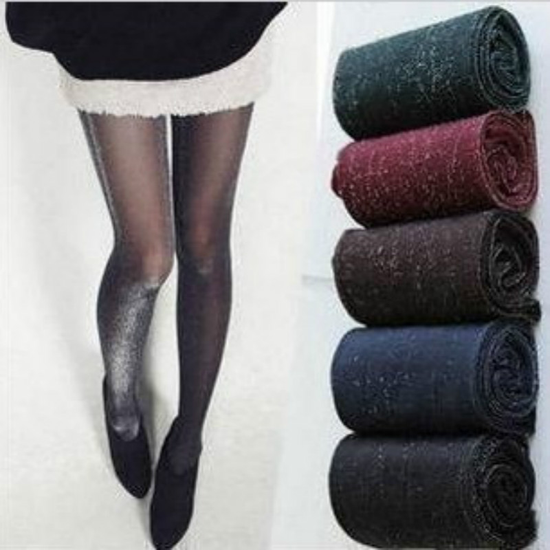 New Hot Sale Sexy Charming Shiny Pantyhose Glitter Stockings Womens Glossy Thin Tights Summer Spring Autumn