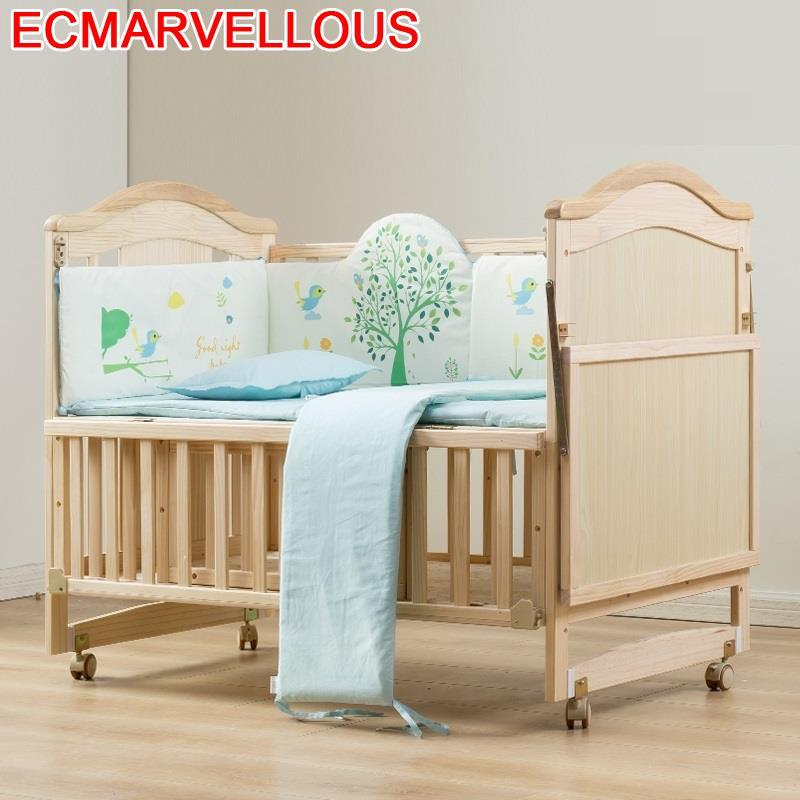 Kinderbed Ranza Child Bedroom Letti Per Bambini Girl Baby Furniture Children's For Wooden Lit Chambre Enfant Children Kid Bed