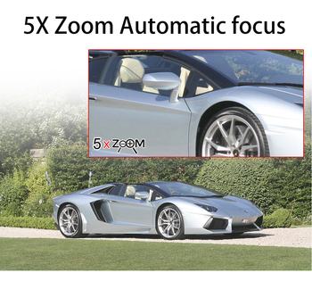 OUERTECH 5X Zoom óptico cámara PTZ con WiFi H.265 1080P IP66 impermeable al aire libre cámara de detección humana LED Luz de almacenamiento nublado