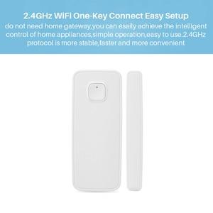 Image 3 - EWelink WiFi kapı sensörü kapı açık/kapalı dedektörleri bağlantısı ile diğer WIFI akıllı anahtar üzerinde APP