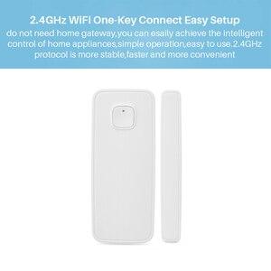 Image 3 - Ewelink sensor de porta aberta/fechada, detectores de porta com o outro interruptor inteligente wifi no aplicativo