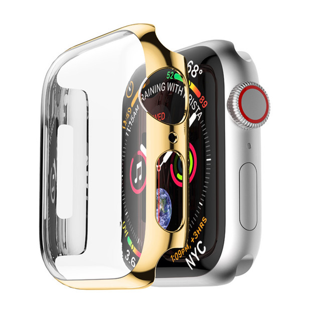cover case For Apple Watch band apple watch 5 4 3 Case 44mm 40mm strap iwatch band 42mm/38mm screen protector watch Accessories 2