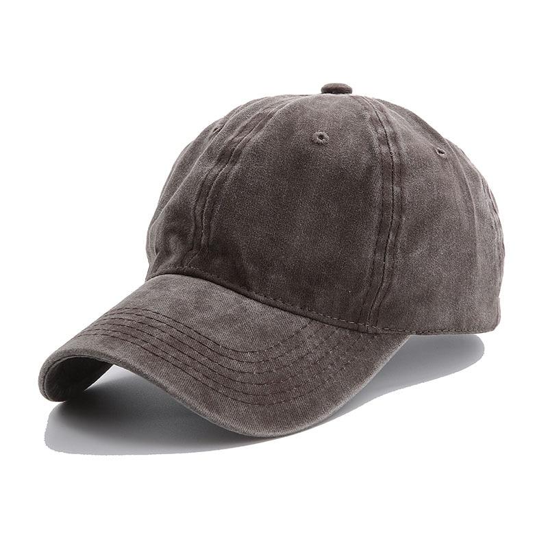 Solid Spring Summer Cap Women Ponytail Baseball Cap Fashion Hats Men Baseball Cap Cotton Outdoor Simple Vintag Visor Casual Cap 16