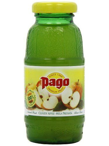 Pago Premium Cloudy Apple Fruit Juice 200 Ml (Pack Of 24)