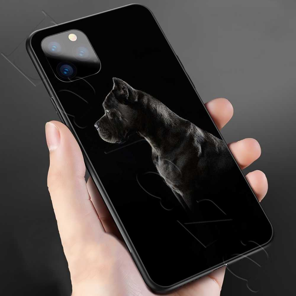 Lavaza Pit Bull güzel köpek Pitbull silikon yumuşak kılıf iPhone 11 Pro XS Max XR X 8 7 6 6S artı 5 5S SE
