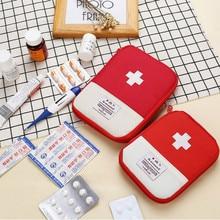 Tragbare Außen Erste Aid Kit Tasche Tasche Reise Medizin Paket Notfall Kit Taschen Kleine Medizin Divider Lagerung Veranstalter