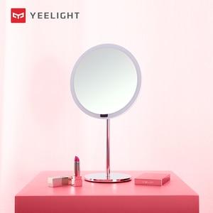 Светодиодный умный косметический светильник Yeelight, лампа для зеркала для макияжа, интеллектуальный индукционный переключатель управления ...