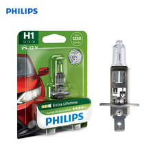 For H1 12 V-55 W (P14, 5S) (увелич. Service life) LongLife Ecovision blister card (1 pc) 12258LLECOB1