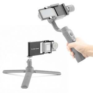 Image 5 - Stabilizer Gimbal Switch Plate Adapter Mount for Gopro Hero 7 6 5 4 3+ for DJI OSMO Zhiyun Feiyu Accessories