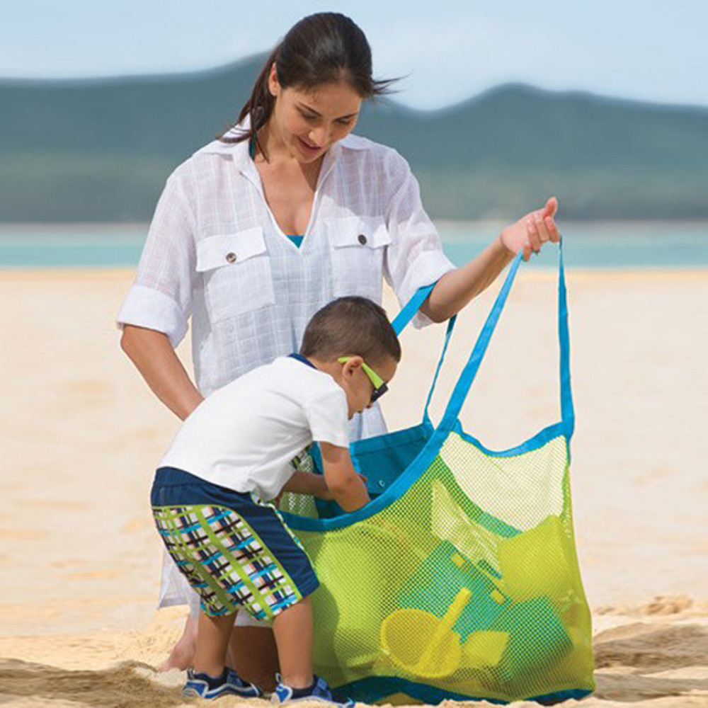 Maternity Towel Baby Children Sand Beach Mesh Kids Indoor Toys Diaper Bags Storage Bag Enduring Appiled Baby Diapering Backpack