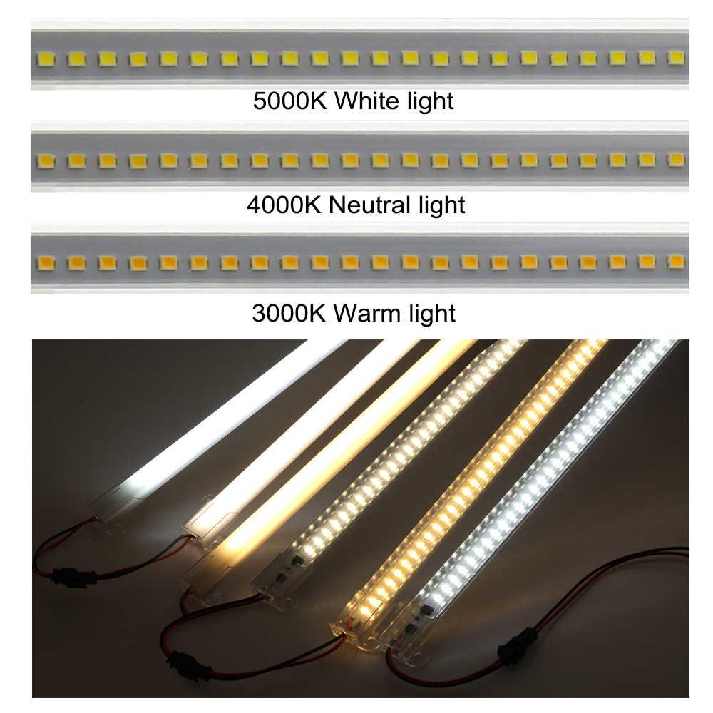 LEDแสง 220V 110Vความสว่างสูง 8W 50 ซม.72LEDs 2835 ไฟLEDแถบพลังงานประหยัดพลังงานLEDหลอดฟลูออเรสเซนต์ 5 ชิ้น/ล็อต.