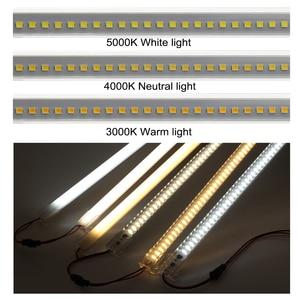 Image 3 - LED Bar Light 220V 110V High Brightness 8W 50cm 72LEDs 2835 LED Rigid Strip Energy Saving LED Fluorescent Tubes 5pcs/lot.