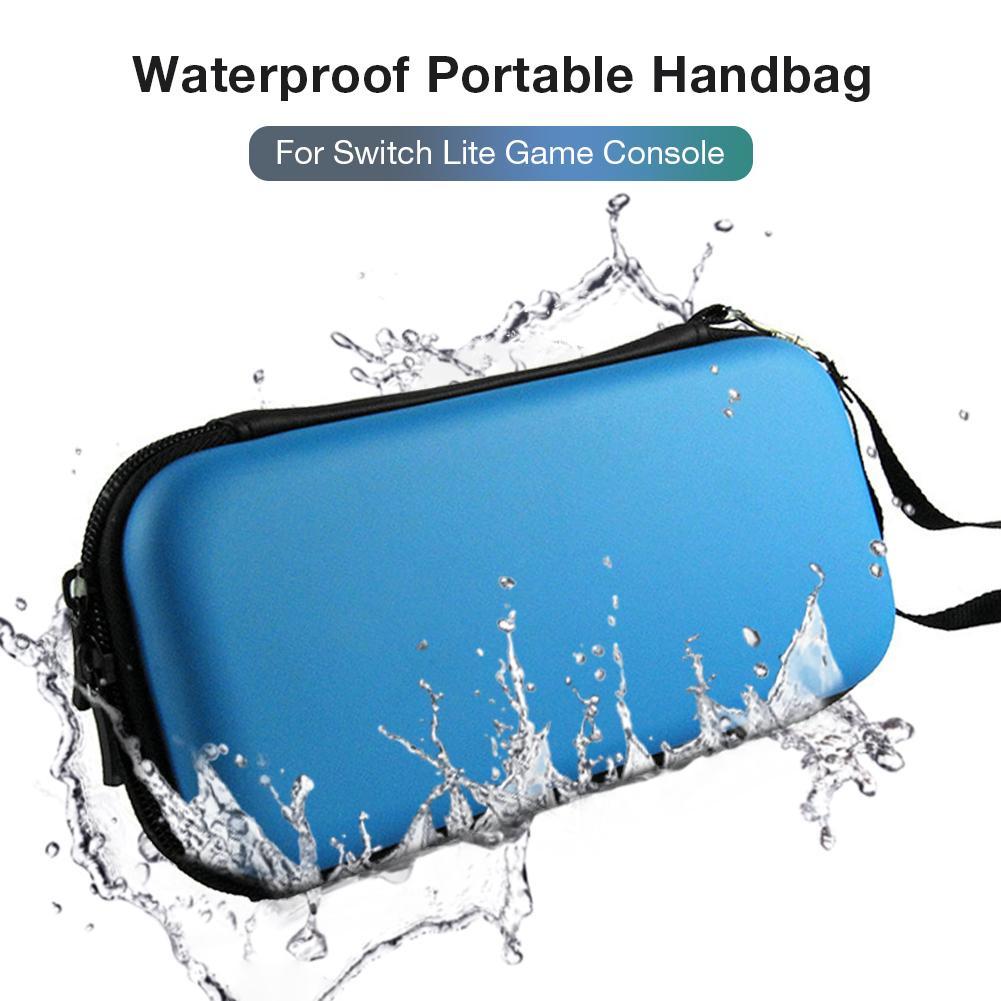 Storage Bag for Switch Lite Game Console Waterproof Portable Handbag EVA Storage Box for Switch Lite