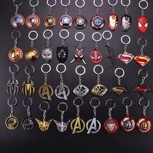 Новые украшения Marvel Супергерои Мстители 4 Логотип Стиль металлические подвески, брелоки с буквой «А брелки Porte Clef держатель ключа chaveiro