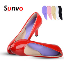 Sunvo 3/4 Length Orthopedic Arch Supports Shoe Insoles Heels Pads for Women High Heel Shoe Liners Shoes Sole Inserts Insole Pad(China)