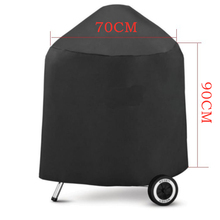 High Quality 70*96cm BBQ Grill Cover Outdoor Garden Barbeque Anti Dust Rain Protective Waterproof Black Portable