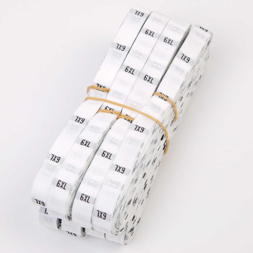 500 개/몫 재고 크기 번호 xs s m l xl 의류 레이블 아동 의류 연령 태그 의류 크기에 대 한 높이 크기 짠된 레이블