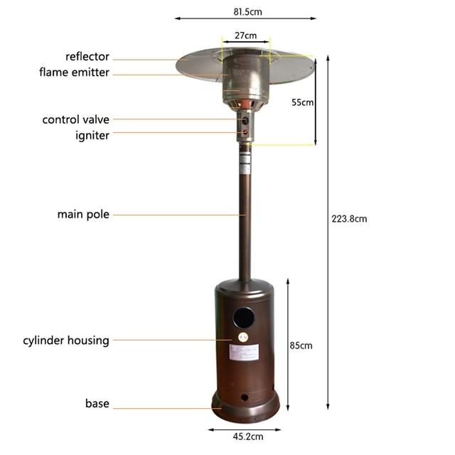 Propane Patio Heater 4
