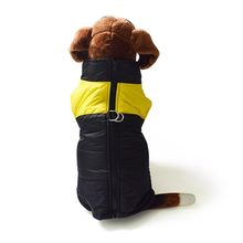 Plus Size Waterproof Pet Dog Vest Jacket Winter Warm Big Dog Clothing For Small Large Dogs Bulldog Pitbull Coat S-7XL(China)