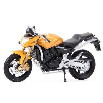 цена на Welly 1:18 Honda Hornet Diecast Alloy Motorcycle Model Toy